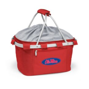 Ole Miss Rebels Insulated Picnic Basket