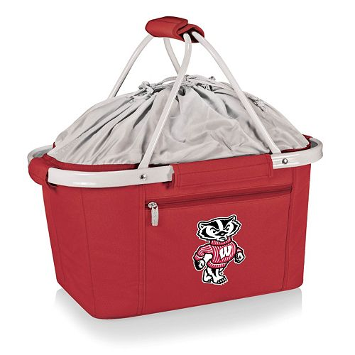 Wisconsin Badgers Insulated Picnic Basket