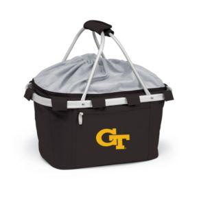 Georgia Tech Yellow Jackets Insulated Picnic Basket