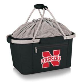 Nebraska Cornhuskers Insulated Picnic Basket