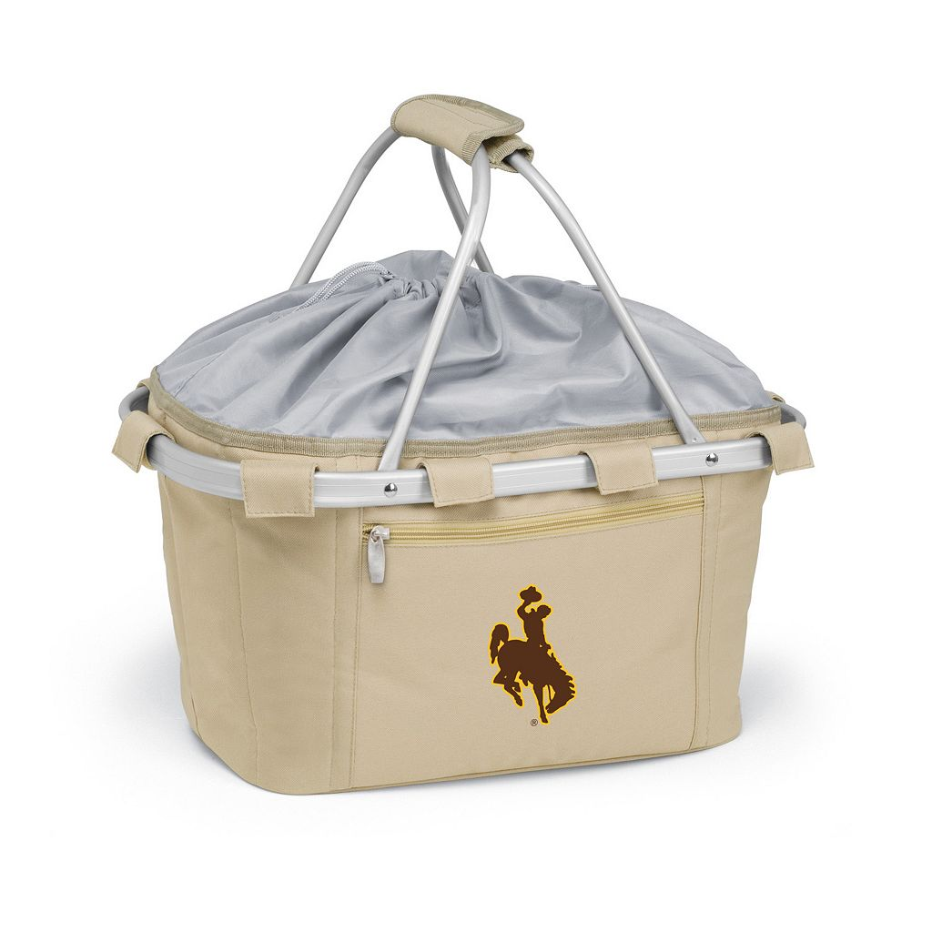 Wyoming Cowboys Insulated Picnic Basket