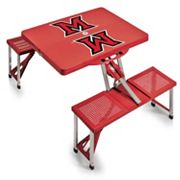 Miami University RedHawks Folding Table