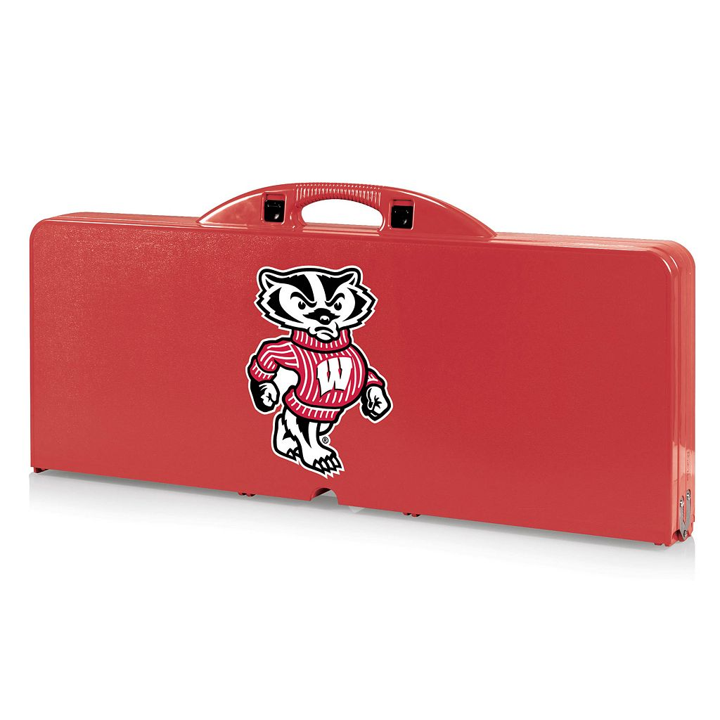 Wisconsin Badgers Folding Table