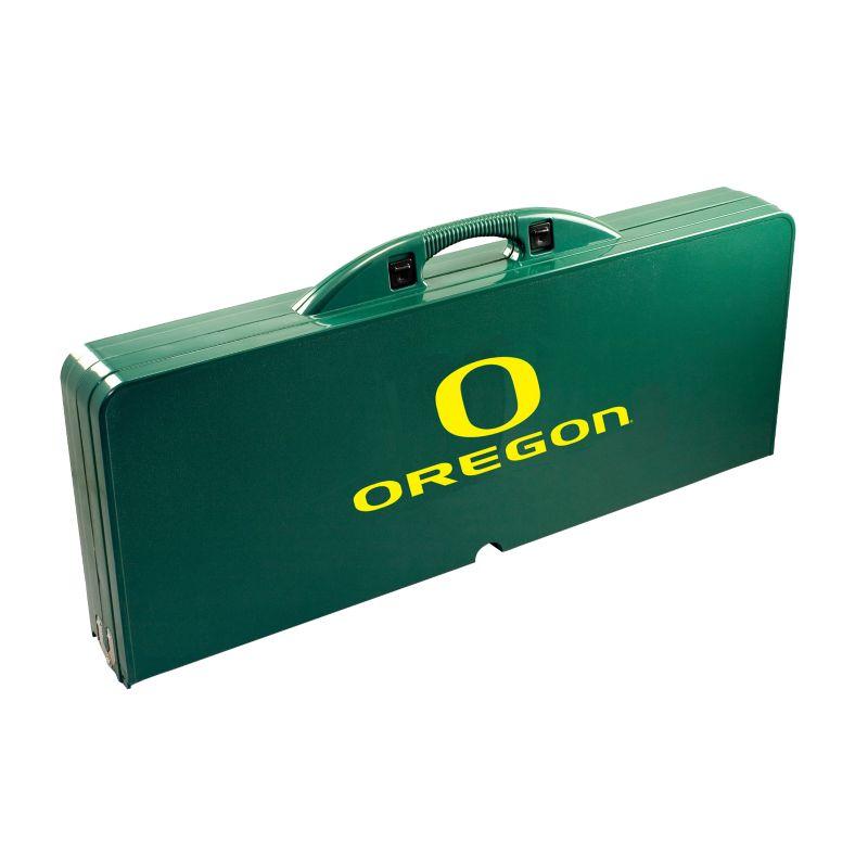 Outdoor Oregon Ducks Folding Table, Green