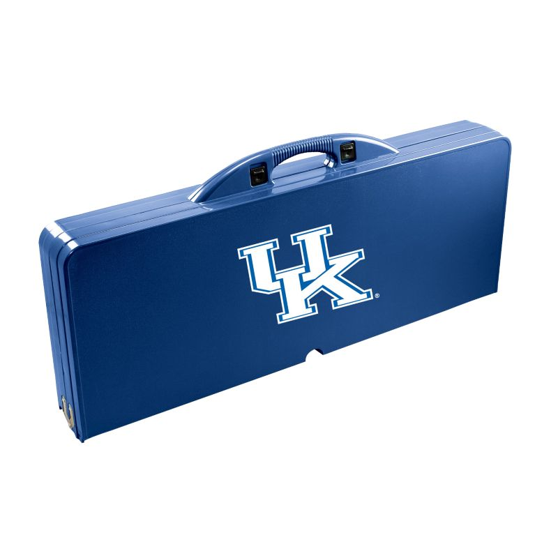Outdoor Kentucky Wildcats Folding Table, Blue