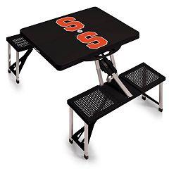 Syracuse Orange Folding Table