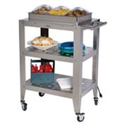 BroilKing Triple Buffet Warming Cart