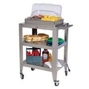 BroilKing Double Buffet Warming Cart