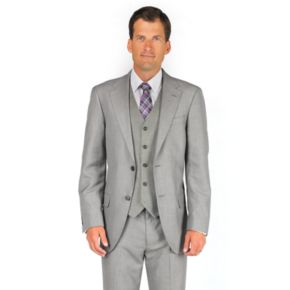 Men's Dockers® Sharkskin Gray Suit Jacket