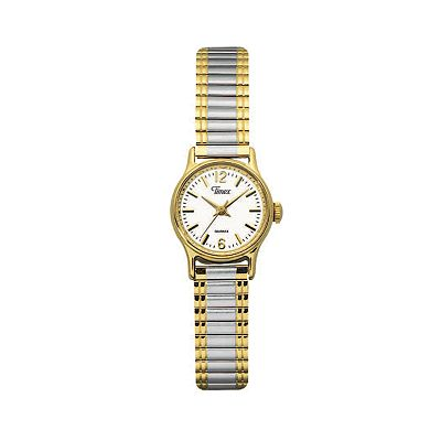 Timex Two Tone Stainless Steel Expansion Watch - T53822 - Women