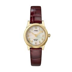 Timex Women's Leather Watch - T21693