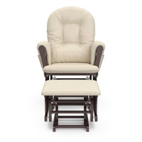 Stork Craft Hoop Glider Chair and Ottoman Set