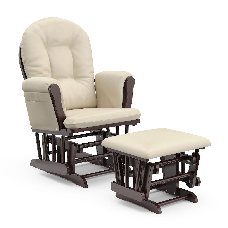 Stork Craft Hoop Glider Chair u0026 Ottoman Set  sc 1 st  Kohlu0027s & Craft Hoop Glider Chair u0026 Ottoman Set islam-shia.org