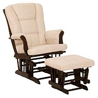 Stork Craft Tuscany Glider Rocking Chair & Ottoman