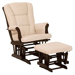Stork Craft Tuscany Glider Rocking Chair & Ottoman by