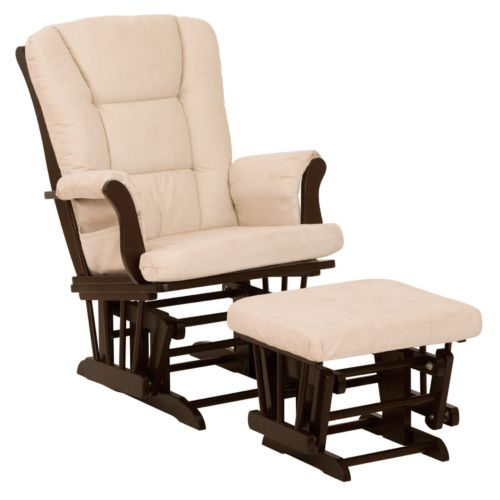 Stork Craft Tuscany Glider Rocking Chair and Ottoman