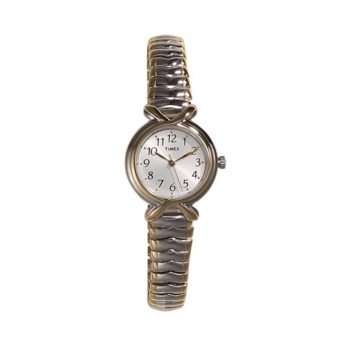 Timex Two Tone Stainless Steel Expansion Watch - T21854 - Women