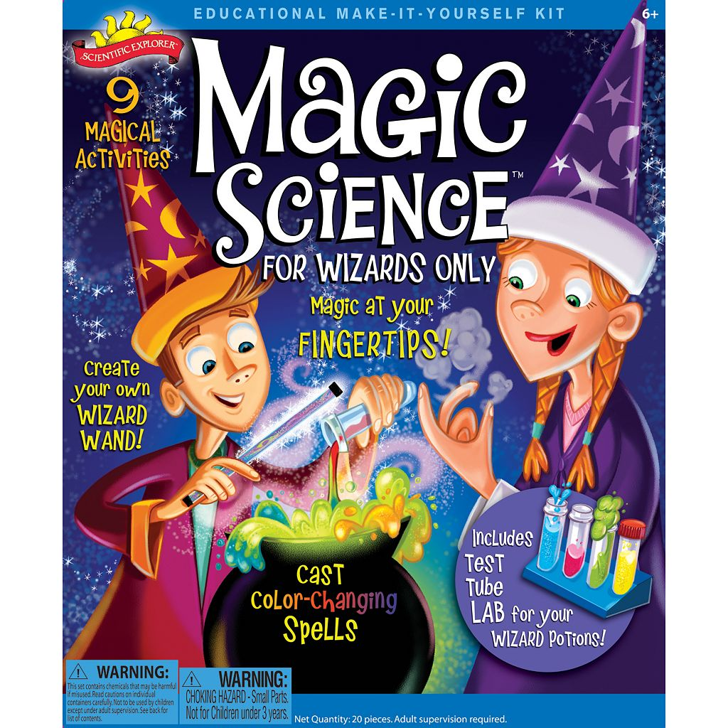 Scientific Explorer Magic Science Kit