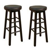 American Heritage Billiards Delta 2-pc. 24-in. Bar Stool Set