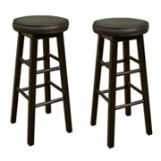 American Heritage Billiards Delta 2-pc. 30-in. Bar Stool Set