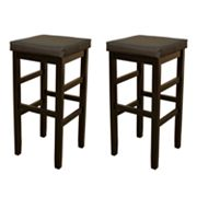 American Heritage Billiards Jensen 2-pc. 24-in. Bar Stool Set