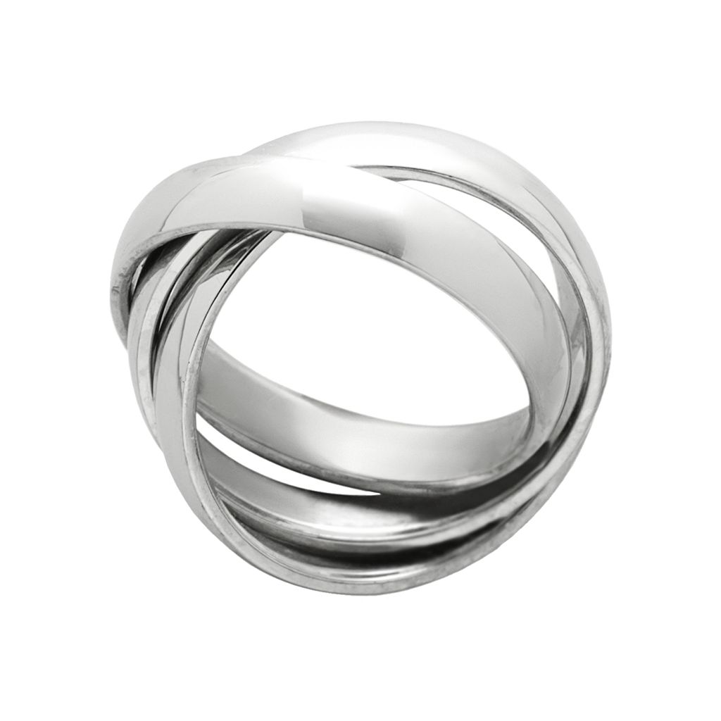 Stainless Steel Puzzle Ring