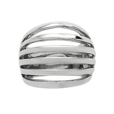 Stainless Steel Multiband Ring