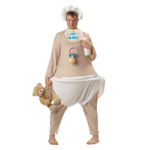 Inflatable Crybaby Costume - Adult