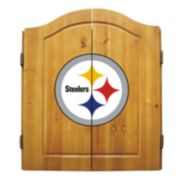 Pittsburgh Steelers Dartboard Cabinet
