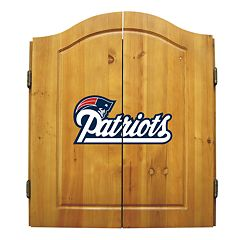 New England Patriots Dartboard Cabinet