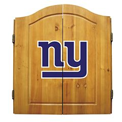 New York Giants Dartboard Cabinet