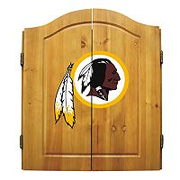 Washington Redskins Dartboard Cabinet