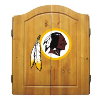 Washington Redskins Dartboard Cabinet