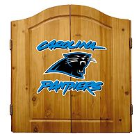 Carolina Panthers Dartboard Cabinet