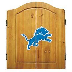 Detroit Lions Dartboard Cabinet