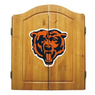 Chicago Bears Dartboard Cabinet
