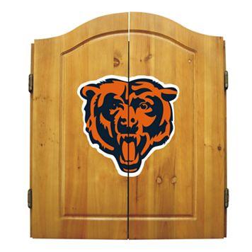 Chicago Bears Dartboard Cabinet