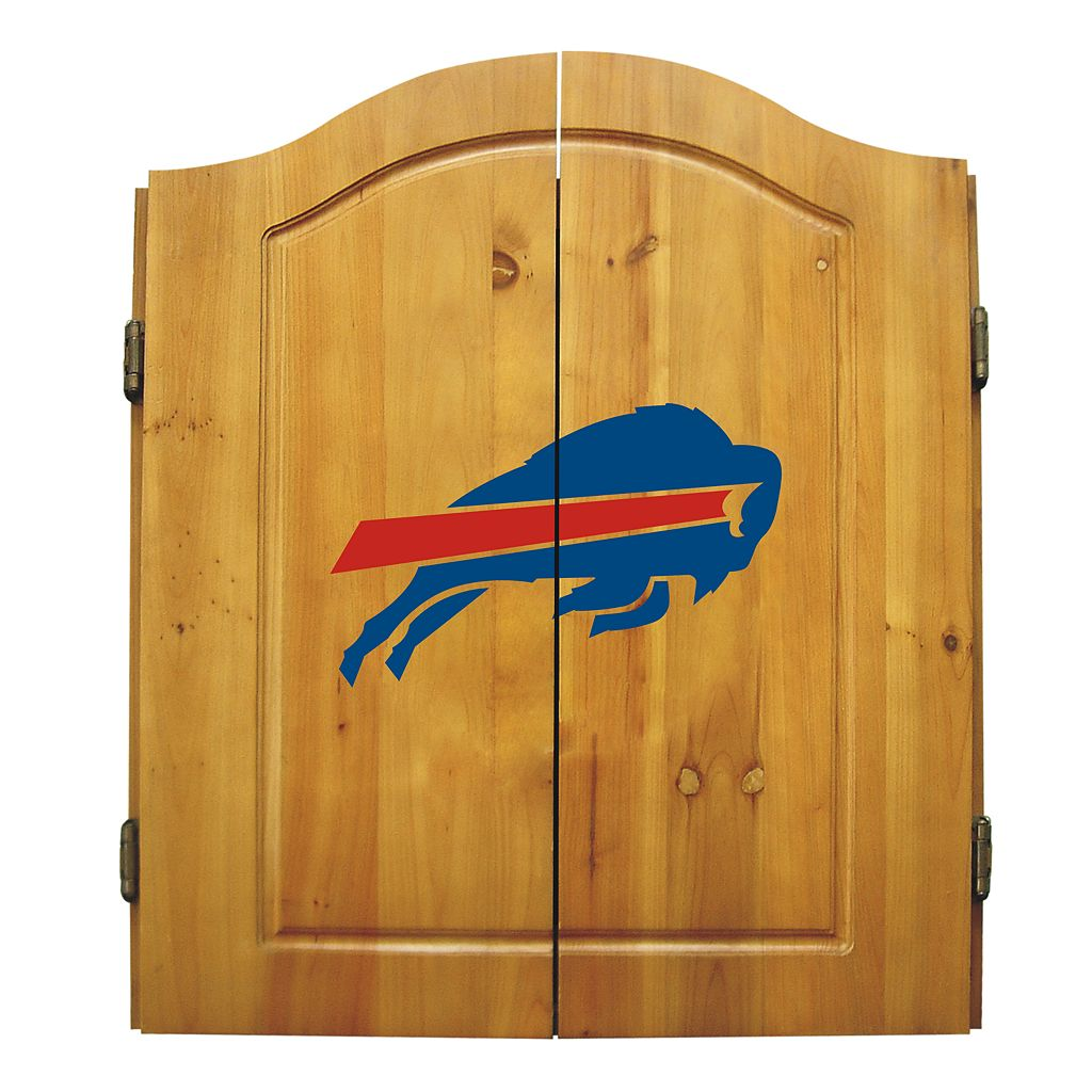 Buffalo Bills Dartboard Cabinet