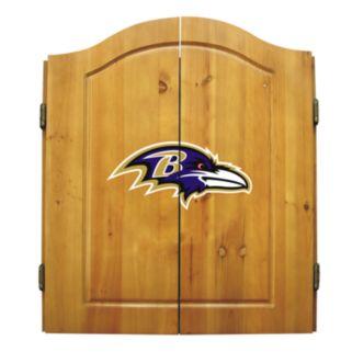 Baltimore Ravens Dartboard Cabinet
