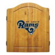 St. Louis Rams Dartboard Cabinet