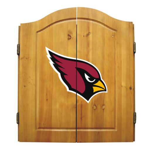 Arizona Cardinals Dartboard Cabinet