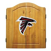 Atlanta Falcons Dartboard Cabinet