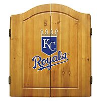 Kansas City Royals Dartboard Cabinet