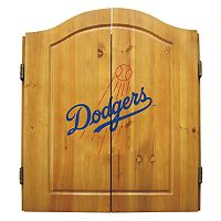 Los Angeles Dodgers Dartboard Cabinet