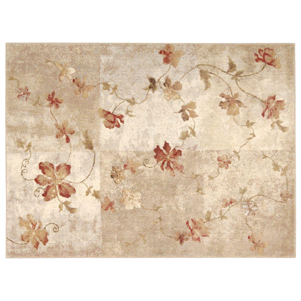 Nourison Somerset Floral Rug - 5'6'' x 7'5''