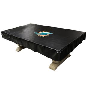 Miami Dolphins Pool Table Cover