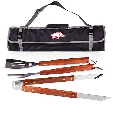 Arkansas Razorbacks 4-pc. Barbecue Tote Set