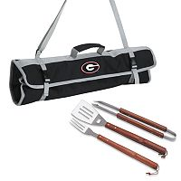 Georgia Bulldogs 4-pc. Barbecue Tote Set