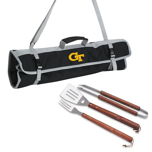 Georgia Tech Yellow Jackets 4-pc. Barbecue Tote Set