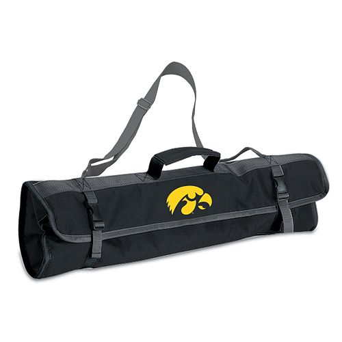Iowa Hawkeyes 4-pc. Barbecue Tote Set